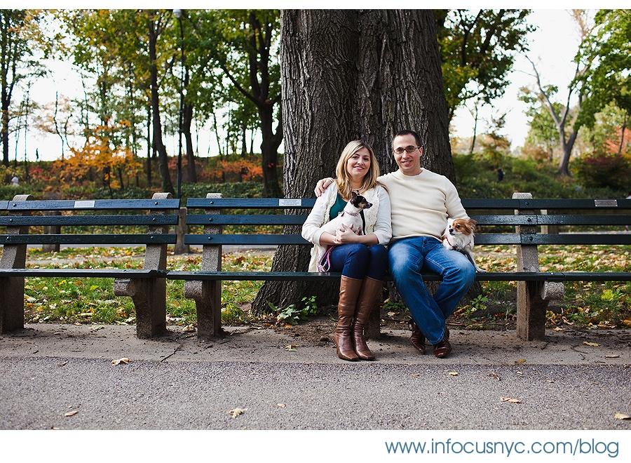 Jennifer + Keving Engagement 001 Sheet 1 Jennifer + Kevin Central Park Engagement
