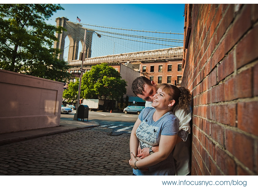 Rebecca + Mark Engagement 001 Sheet 1 Rebecca + Mark Engagement in DUMBO