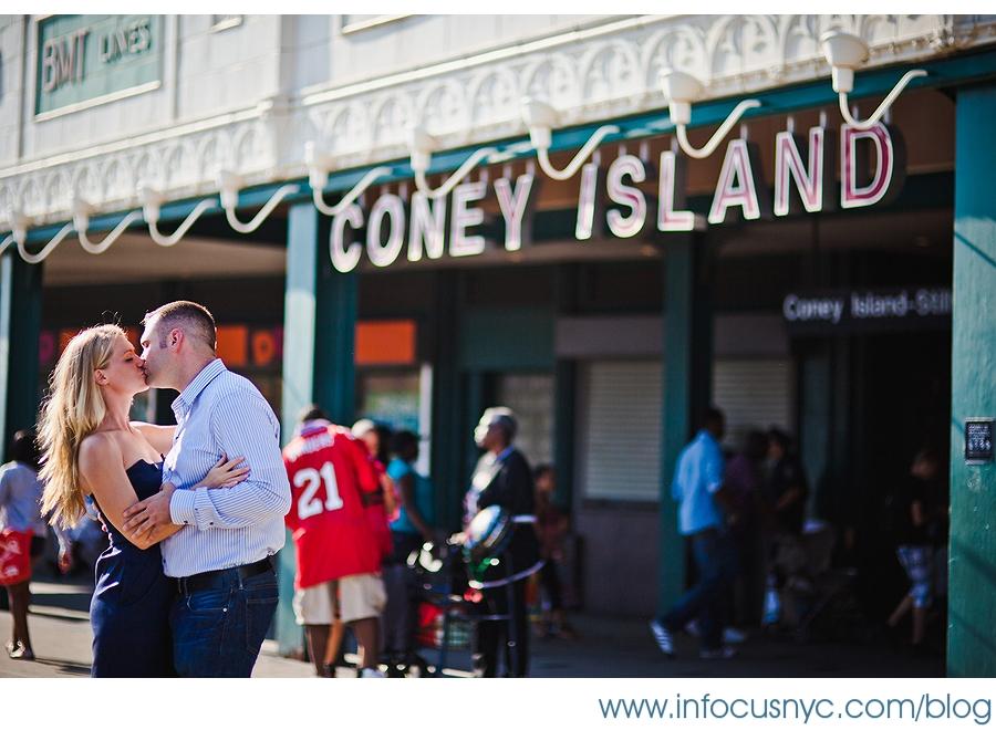 julia dennis 002 Sheet 2 Julia + Denis Engagement at Coney Island