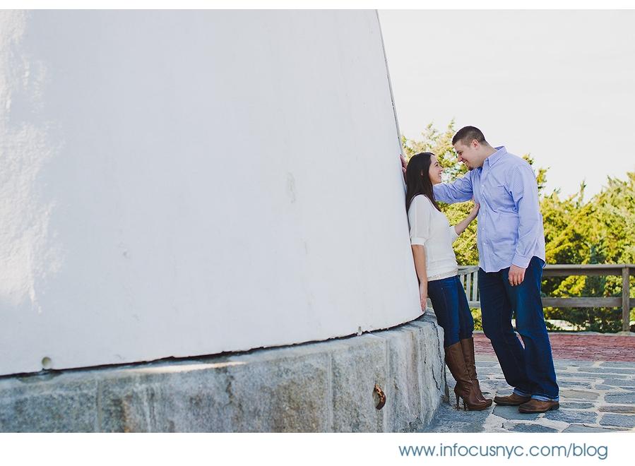 Marissa + Bill Engagement 002 Sheet 2 Marissa + Bill Engagement at Fire Island Lighthouse