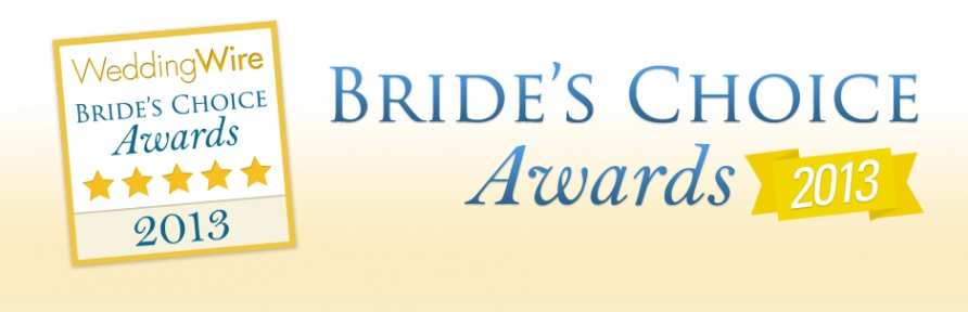 bride choicepp w892 h2881 4th Consecutive Bride's Choice Award for 2013 from WeddingWire!