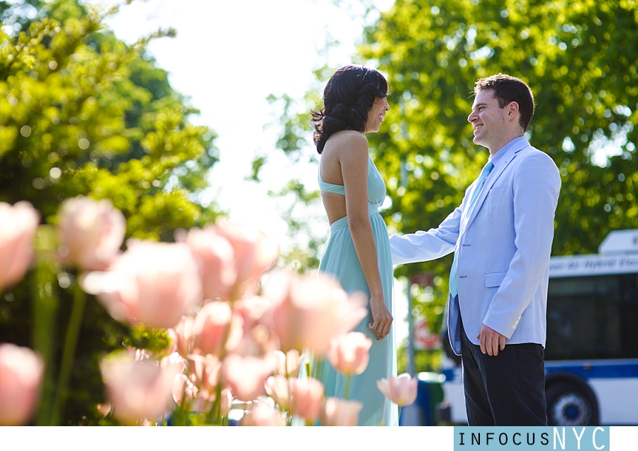 Frances + Aaron Engagement at The Cloisters 1 Frances + Aaron Engagement at The Cloisters & Little Red Lighthouse
